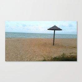 Somewhere on a Beach Canvas Print