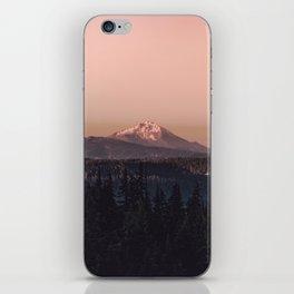 Mountain Morning IV iPhone Skin