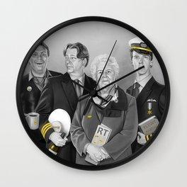 Cabin Crew Wall Clock