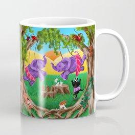 Dance of the Fleet-Footed Heffalumps Coffee Mug