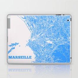 Marseille, France street map Laptop & iPad Skin