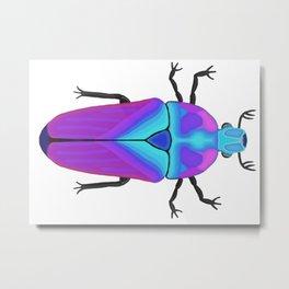 Colorful Beetle Bug #2 Metal Print