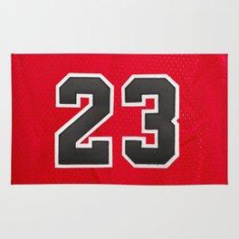 Michael 23 Jordan Chicago Bulls Rug