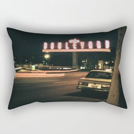 the boulevard Rectangular Pillow