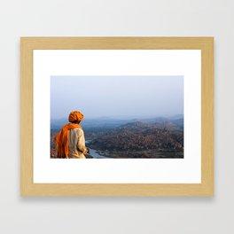 Chai Tea & Vast Landscapes Framed Art Print
