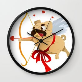 Love and Paws Wall Clock