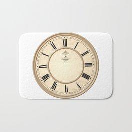 Classy Vintage Birdcage Decorative Clock Bath Mat