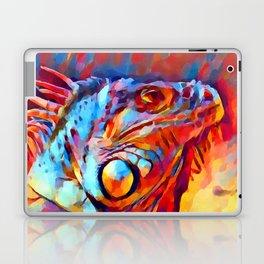 Iguana Watercolor Laptop & iPad Skin