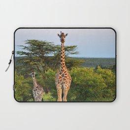 Giraffe Widlife Photography #society6 #home #decor Laptop Sleeve