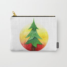 The Pine Guard Watercolor Logo Carry-All Pouch