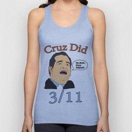 Cruz Did 3/11 Unisex Tank Top