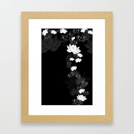 Lovely Lotus Framed Art Print