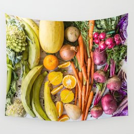 Eat the Rainbow Wall Tapestry