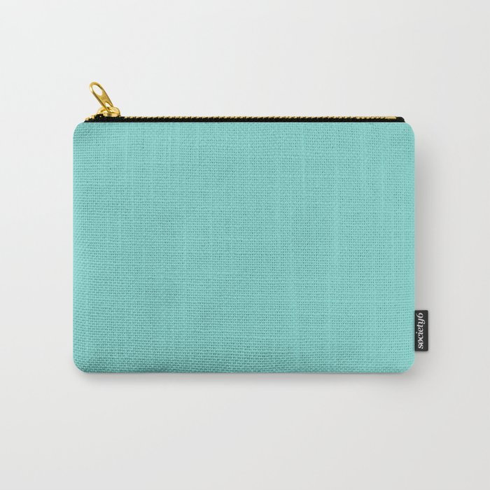 Solid Colors Series - Light Cyan Carry-All Pouch