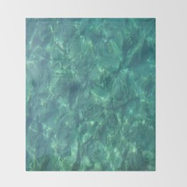 Ocean In Motion Throw Blanket