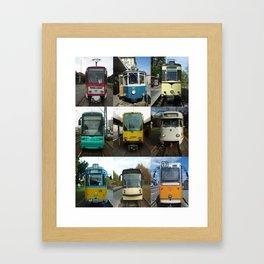 Trams Framed Art Print