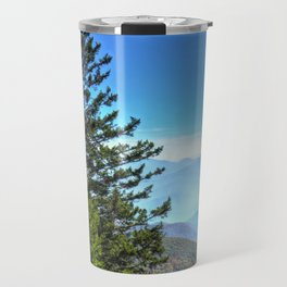 Blue Ridge Mountains North Carolina Travel Mug