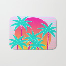 Hello Miami Sunset Bath Mat