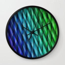 Pattern multicolored 10 Wall Clock