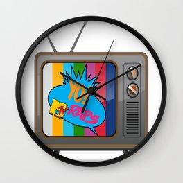 Retro MTV Wall Clock