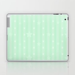 Kawaii Green Laptop & iPad Skin