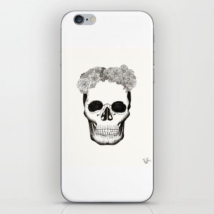 Calavera en Recuerdo iPhone Skin