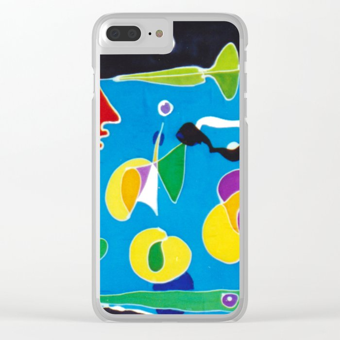 Viewpoint            by Kay Lipton Clear iPhone Case