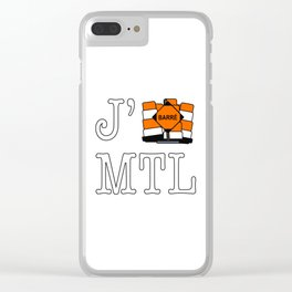 J'cone Montréal Clear iPhone Case