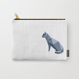 Origami Cat Carry-All Pouch