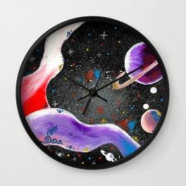 """""""Planetary"""" Wall Clock"""