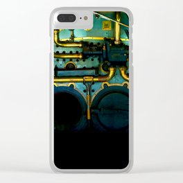 Industrial Victorian Clear iPhone Case