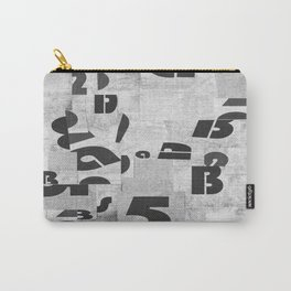 Abstract pattern 51 Carry-All Pouch