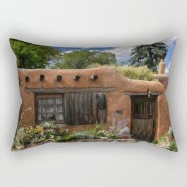 Casita de Santa Fe Rectangular Pillow