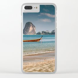 Pak Meng Beach Thailand Clear iPhone Case