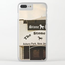 The Stone Pony Clear iPhone Case