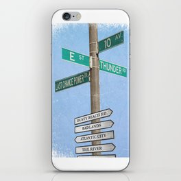 Springstreets iPhone Skin