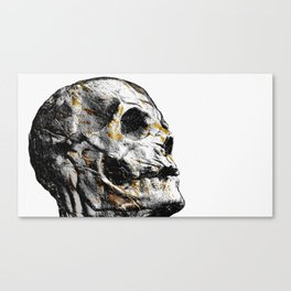 Day 0923 /// Skeletoon shader Canvas Print