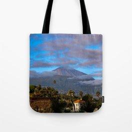 Volcano Teide on Tenerife Tote Bag