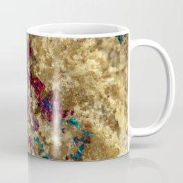 Golden Oil Slick Quartz Coffee Mug