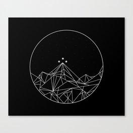 The Night Court Symbol Canvas Print