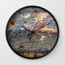 Grunge Texture 3 Wall Clock