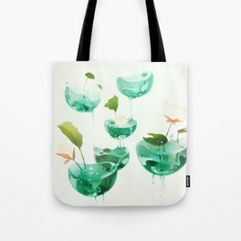 the hovering ponds. Tote Bag