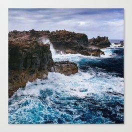 Ocean Power Canvas Print