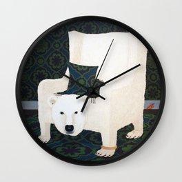 Polar Chair I Wall Clock