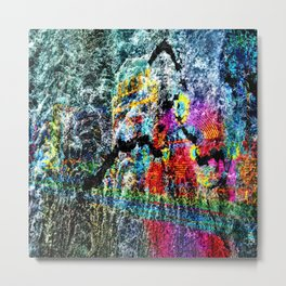 abstract   hj Metal Print