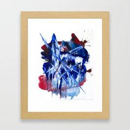 Crystalline Drop Framed Art Print