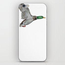 Flying Duck iPhone Skin