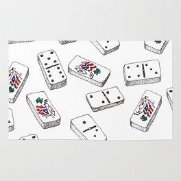 Dominos de Puerto Rico Rug