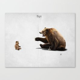 Brunt Canvas Print