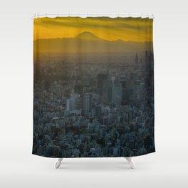 Tokyo Sunset Shower Curtain